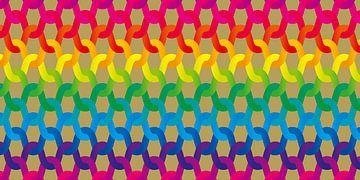 Regenboog breiwerk