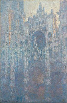 De Kathedraal van Rouen door Claude Monet van