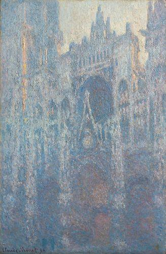 De Kathedraal van Rouen door Claude Monet van Hollandse Meesters