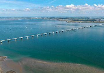 Le pont zélandais relie Noord-Beveland à Schouwen-Duiveland sur Sky Pictures Fotografie