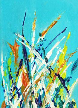 Blauer Garten von Maria Kitano
