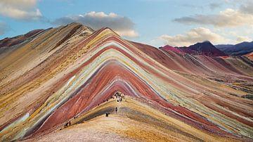 Regenbogengebirge in Cusco, Peru von Ivo de Rooij