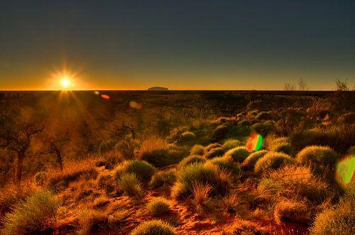 Zonsopgang in de Outback