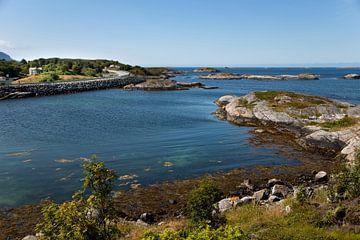 Küstenlandschaft von Norwegen von Karijn Seldam