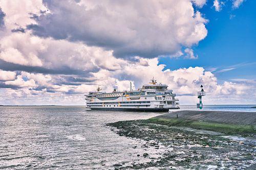 Veerboot van en naar waddeneiland Texel