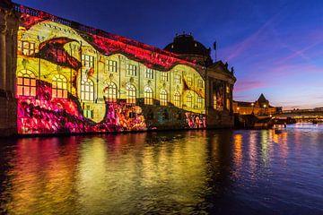 Bodemuseum Berlijn in bijzonder licht van Frank Herrmann