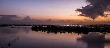 Lever du soleil au Suriname