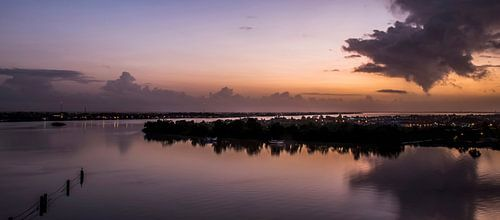 Zonsopgang in Suriname