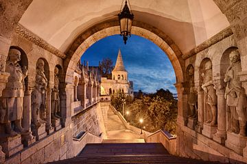 Fischerbastei in Budapest von Michael Abid