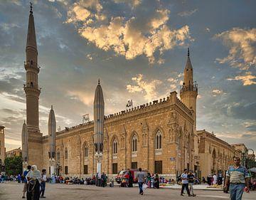 Al-Hussain Moschee Kairo, Ägypten Tageslicht Außenansicht von Mohamed Abdelrazek