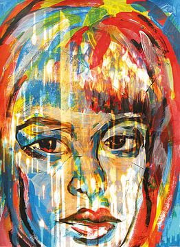 Feuer Frau von ART Eva Maria