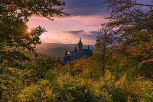Kasteel van Wernigerode,  Saksen-Anhalt, Duitsland