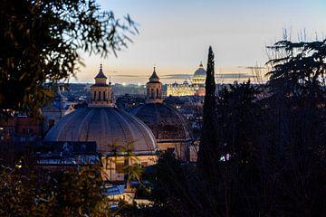 Rome bij nacht van Merijn Koster