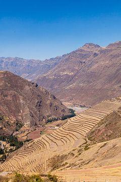 Ruinen Kallaqasa bei Pisac, Peru, Südamerika von Martin Stevens