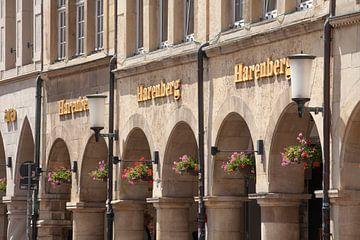 Prinzipalmarkt, arcades, Münster, stad, Westfalen van Torsten Krüger
