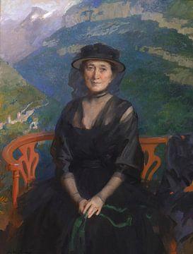 Cecilia Beaux~Porträt von Frau Addison C. Harris