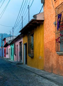 Koloniale huizen in Antigua