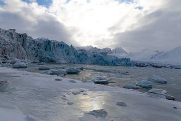 Gletsjer op Spitsbergen sur Marieke Funke