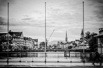 Regen in Zürich sur