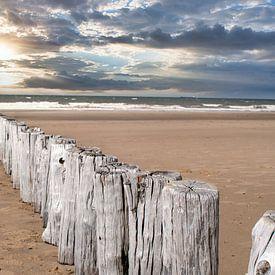 Komposition am Strand von JM de Jong-Jansen