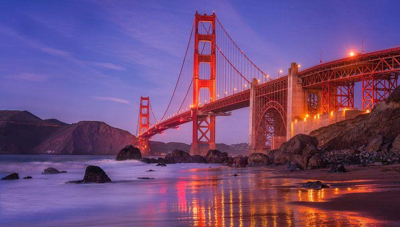 Pont du Golden Gate sur Reinier Snijders