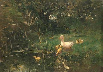 Eendjes, Willem Maris