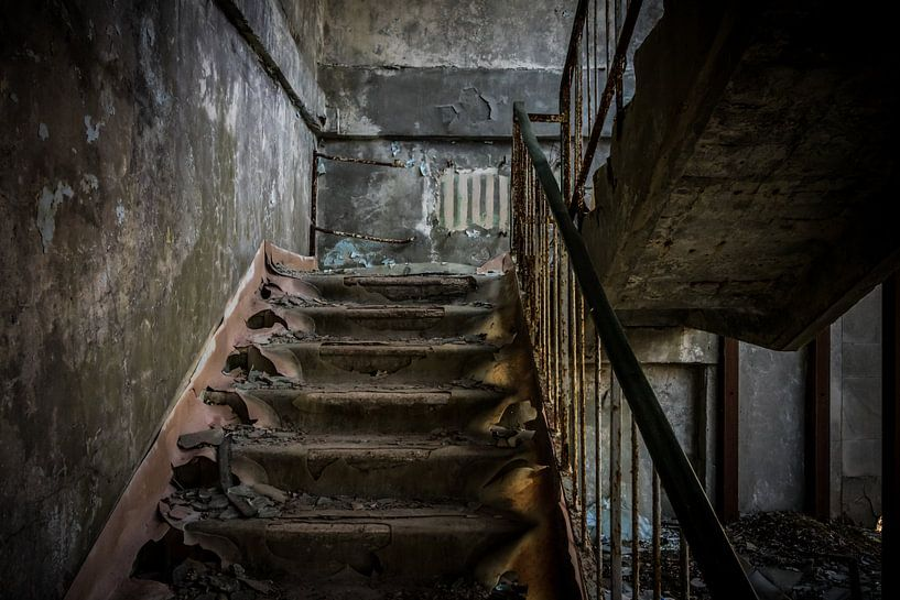 Let's take the stairs van The Pixel Corner