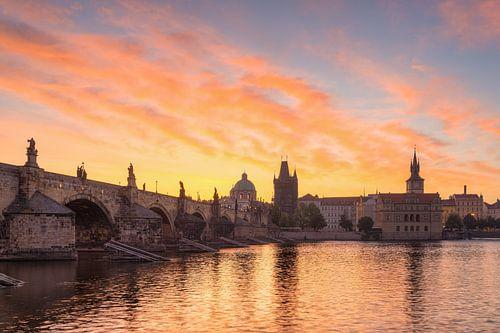Sonnenaufgang in Prag