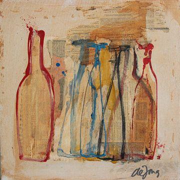 Flessen (8) van Leo de Jong