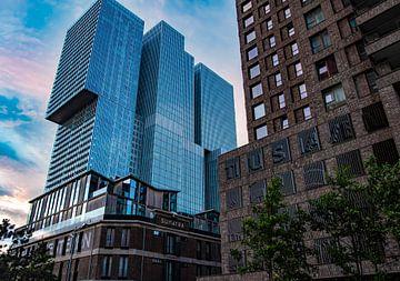 Rotterdam kop van zuid van Marjolein van Middelkoop
