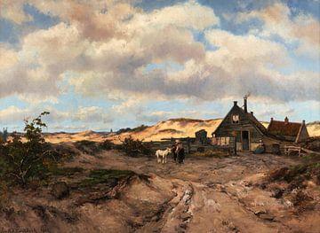 Fischerhaus in den Dünen, Johannes Hermanus Barend Koekkoek