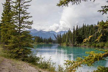 Banff national park Canada Alberta meer van Joost Winkens