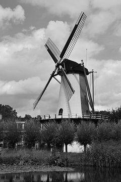 Mühle De Zandweg in Rotterdam-Charlois von Rob Pols