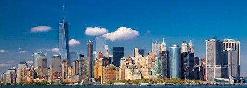 New York City, Manhattan Skyline van