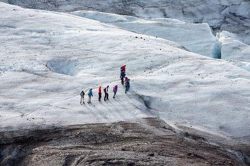 Gletsjerwandeling op Vatnajokull van