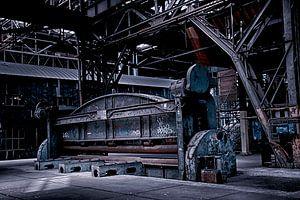 Industrie NDSM-Metallwalzwerk von Evelien van der Horst