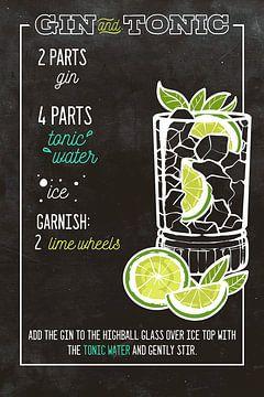 Gin et boisson tonique sur Amango