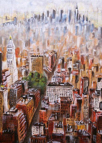melting Manhattan - New York City