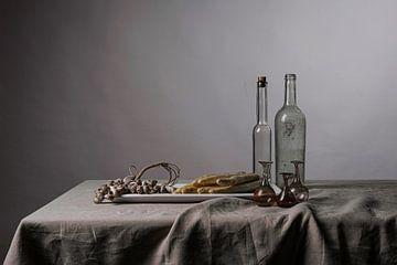 Nüchternes modernes Stillleben mit Spargel von Affect Fotografie
