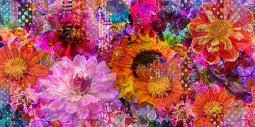 Magische Blüten von christine b-b müller