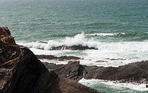 water on the rocks in Portugal Alentejo