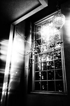 Fenêtre donnant sur une cour sur Esther Hereijgers