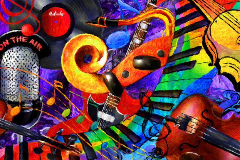 Image Music Mix van Marion Tenbergen