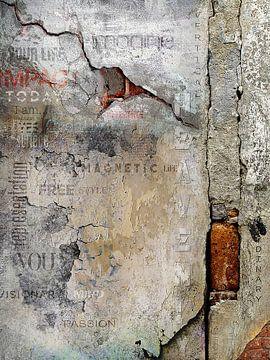 Werk aan de muur staat voor: Magnetic von Jerome Coppo