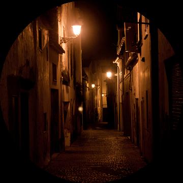 Nacht in Denia van Herbert Seiffert