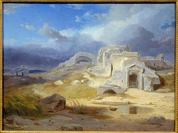 Das Grab des Archimedes in Syrakus - Carl Rottmann