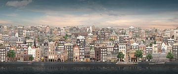 Plat Amsterdam. von Olaf Kramer