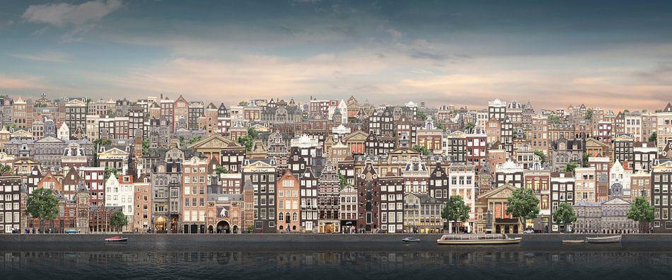 Plat Amsterdam. van Olaf Kramer