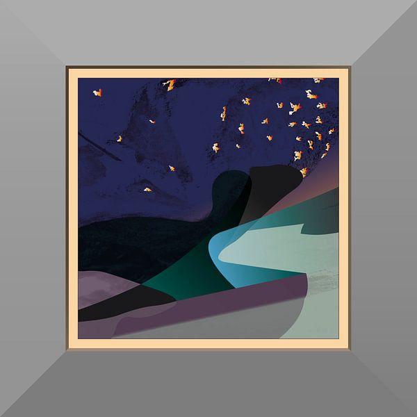Sirene-nacht van Robert Smink