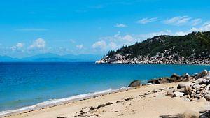 Het strand van Magnetic Island - Queensland, Australië